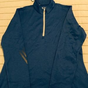 Adidas Terry Quarter zip Jacket